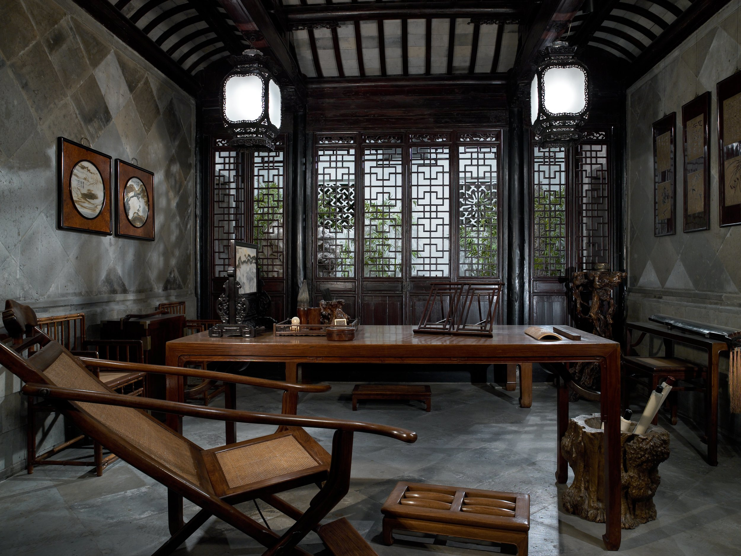 The Studio of Gratifying Discourse, 1797 - Unknown artist china.jpg