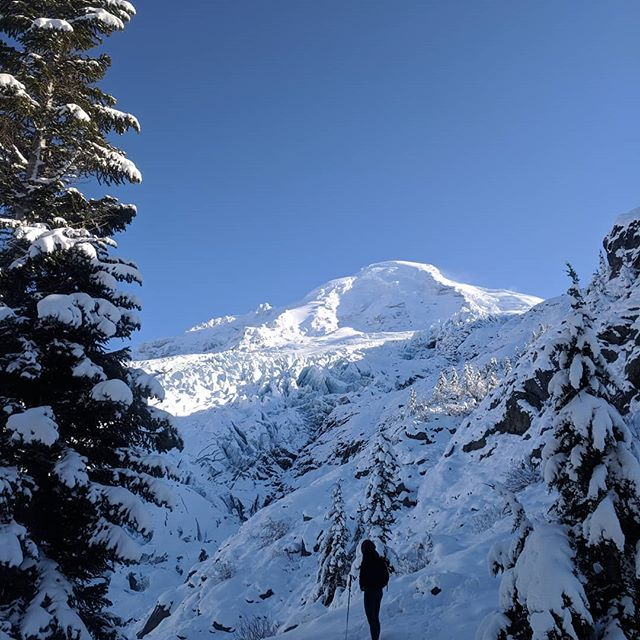 @caitlinnccc scoping out Mt Baker today. #winteriscoming