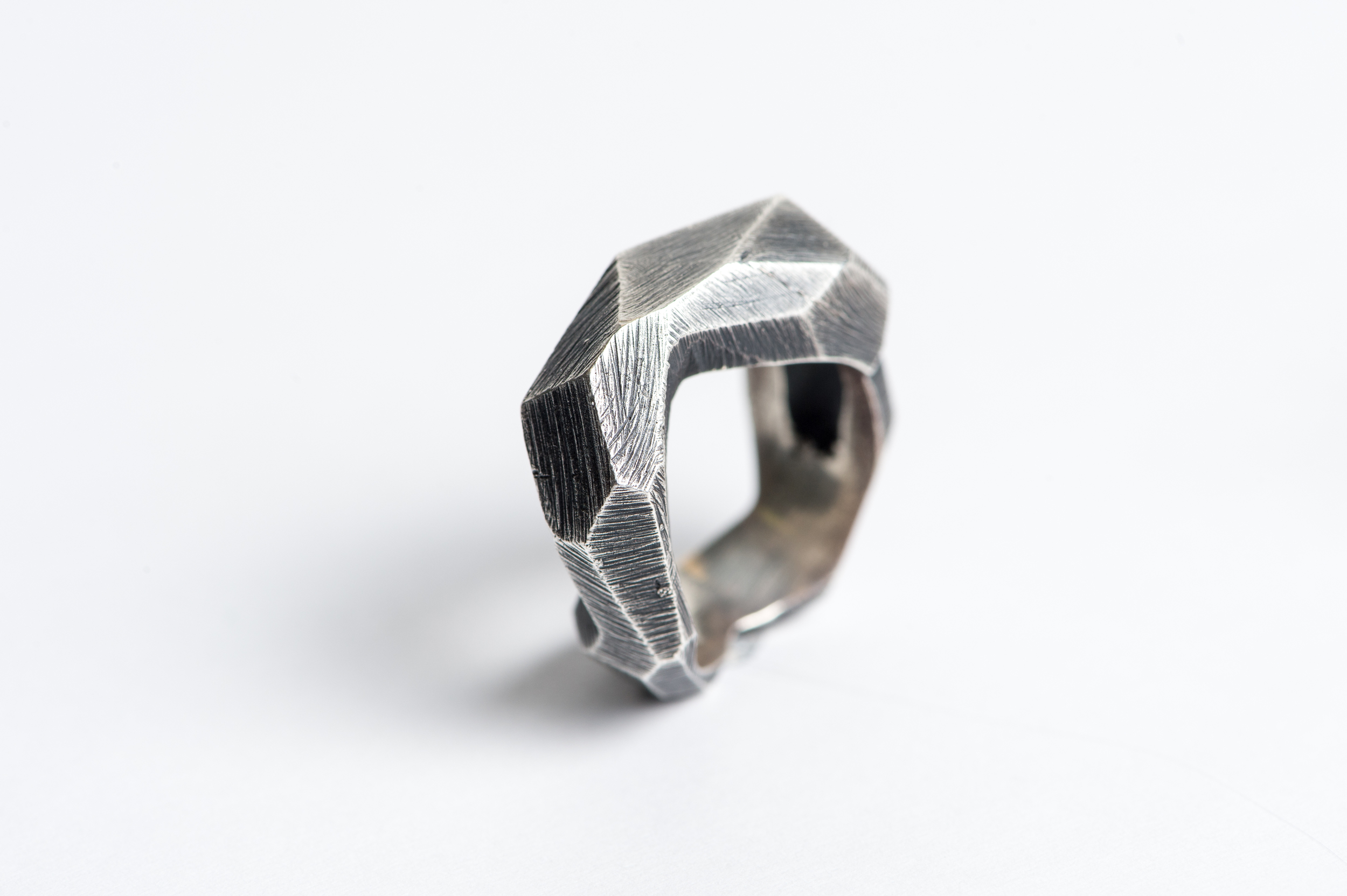 Oxidized Sterling Silver