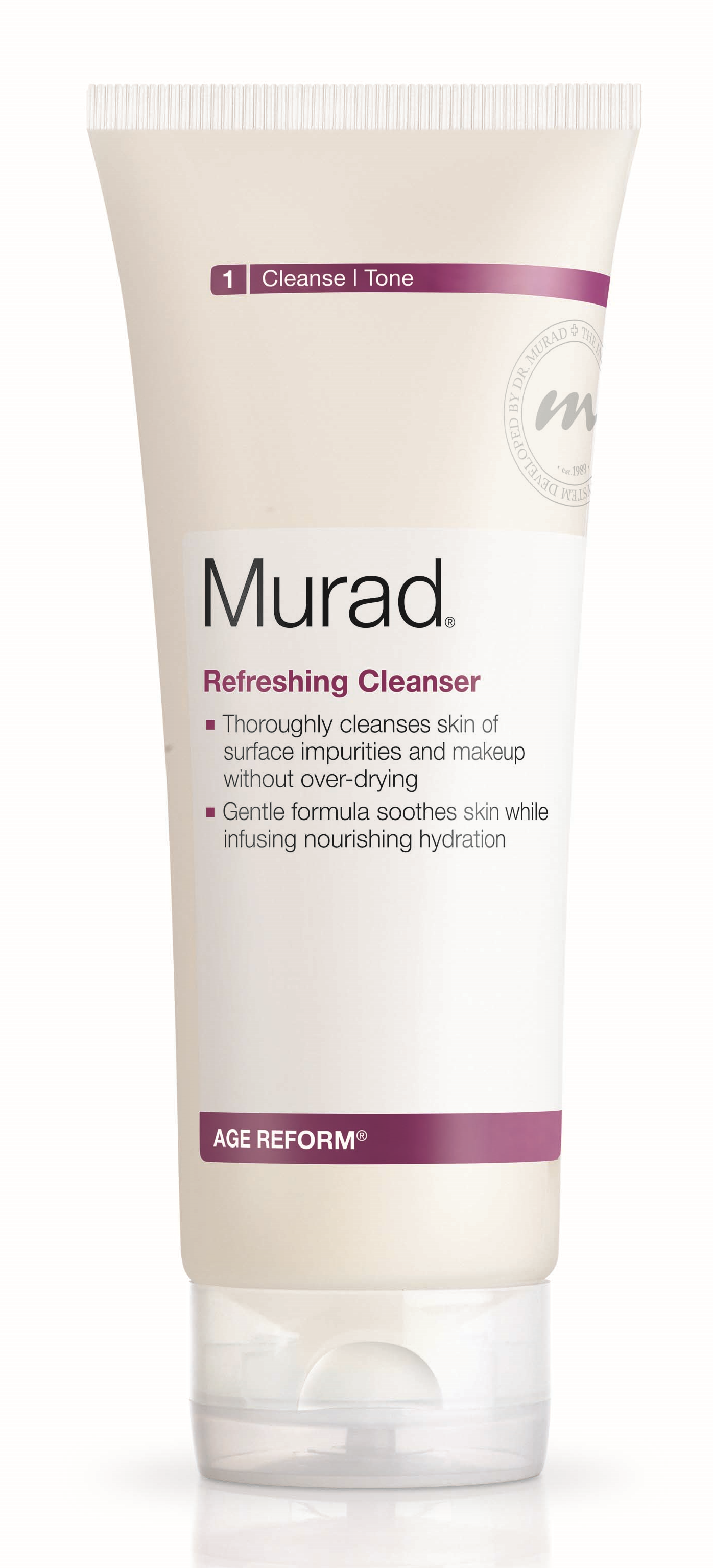 I would recommend the  Murad Refreshing Cleaner .
