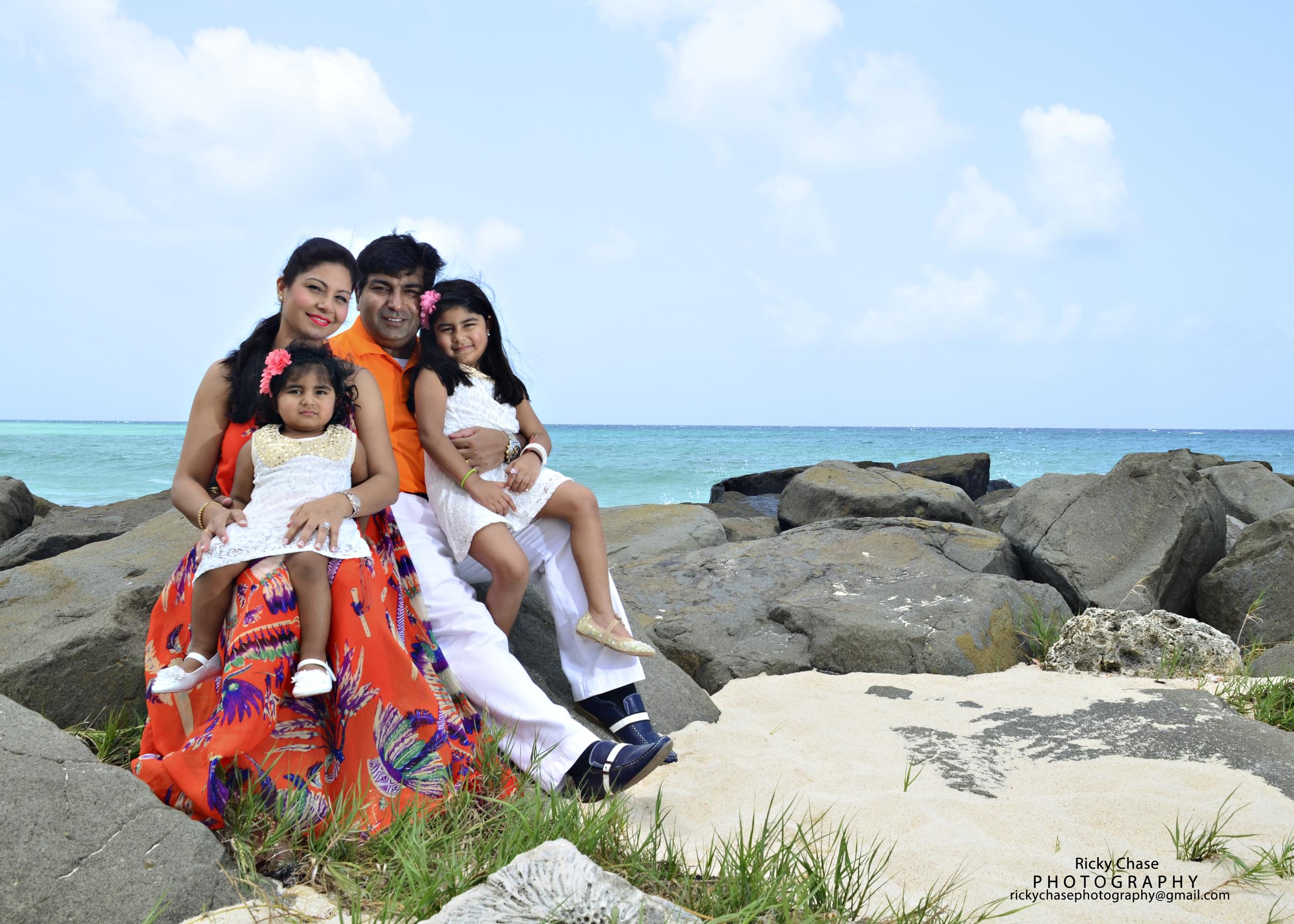 Mukta & Family photo shoot at the Hilton Hotel