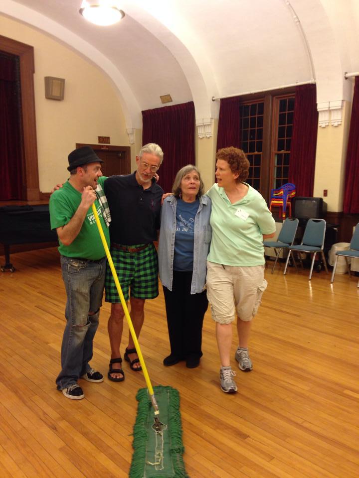 SANS Volunteers Having Fun