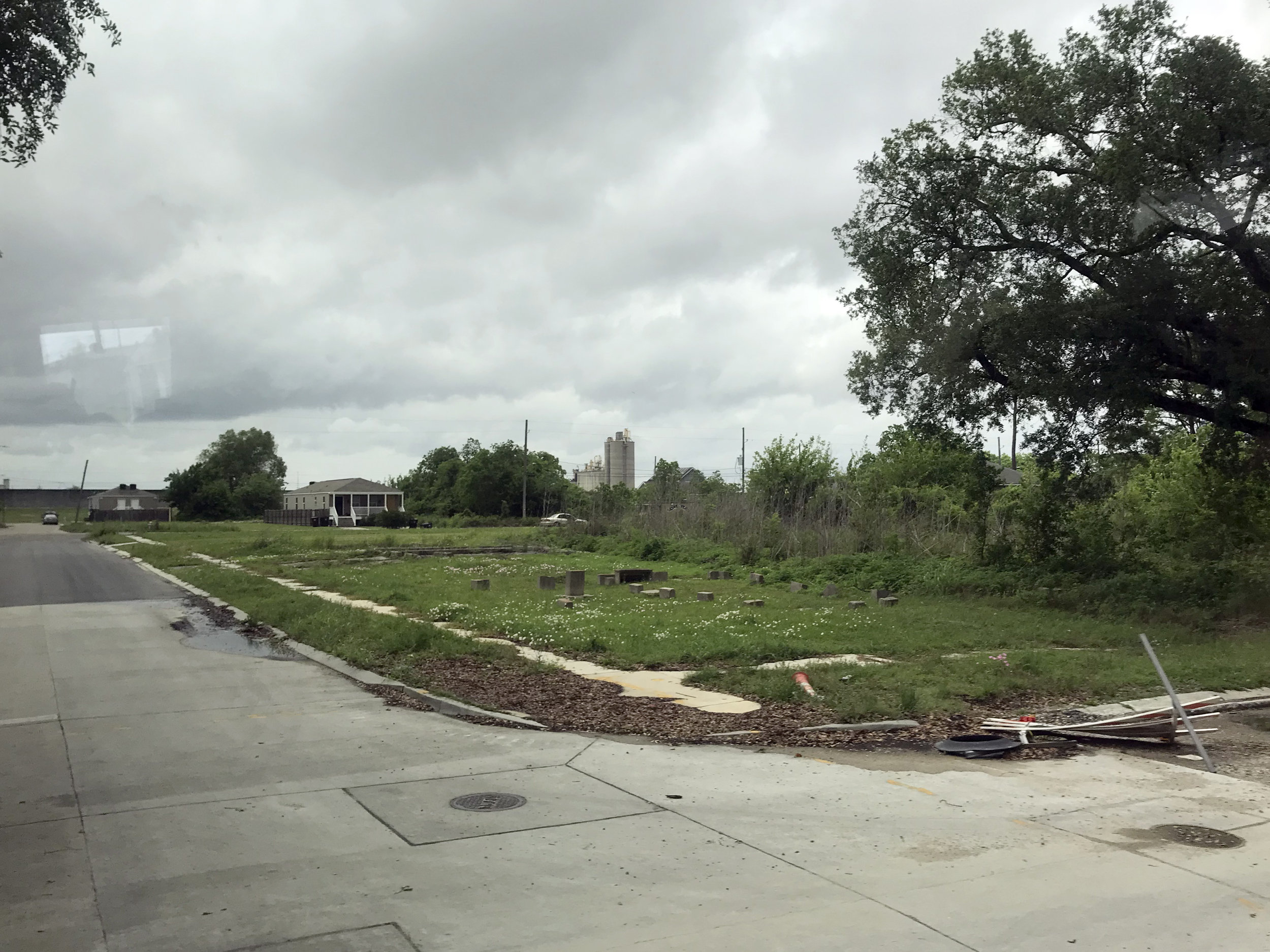 JB Still a lot of vacant land in the 9th Ward