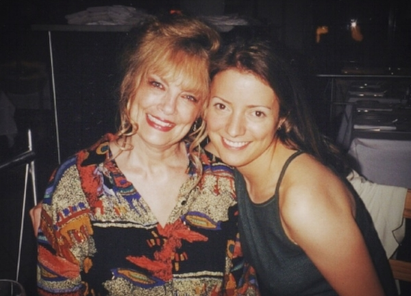 My Eternal Friend & ex-Stepmother Julie and Me - March 2000