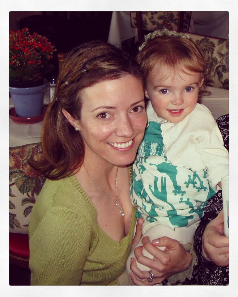 My 2nd Mother's Day with my 16-month-old - May 11, 2008