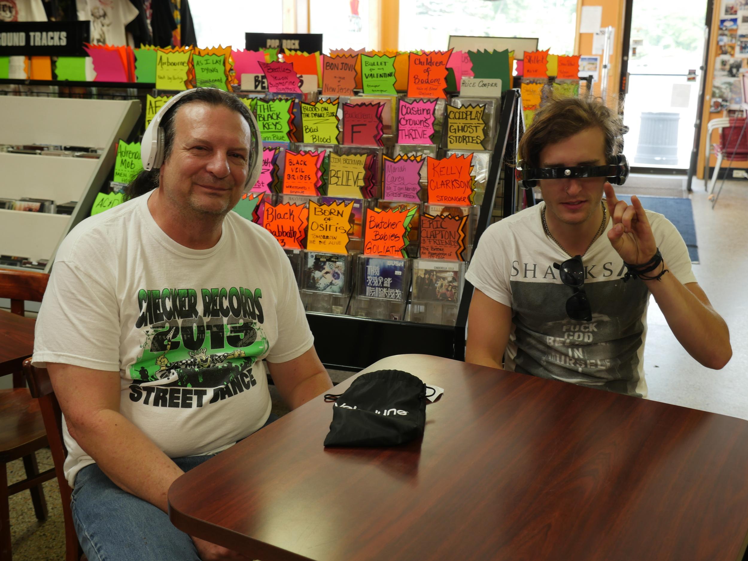 John & Derek Spiteri of  Checker Records