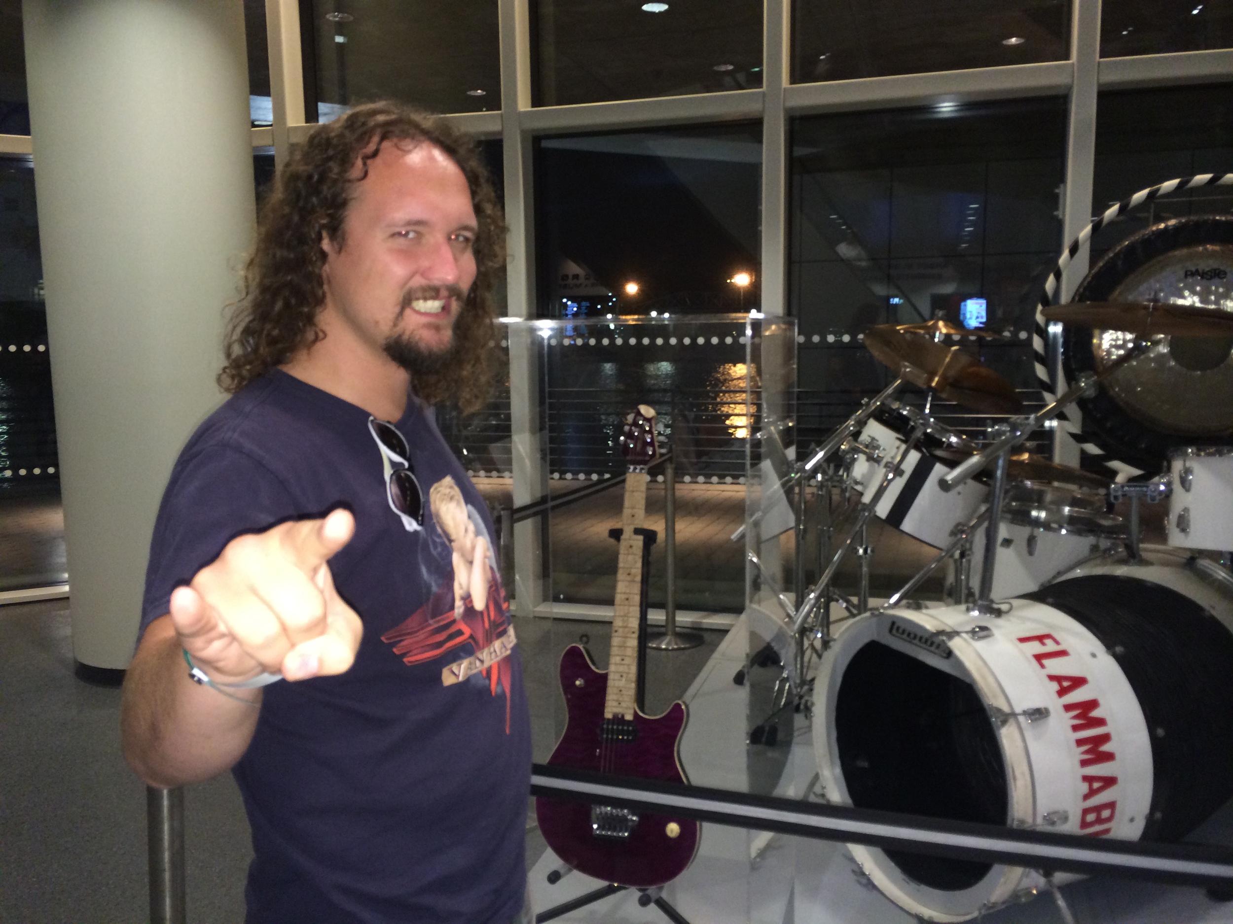 Alex Van Halen's Mega Kit!