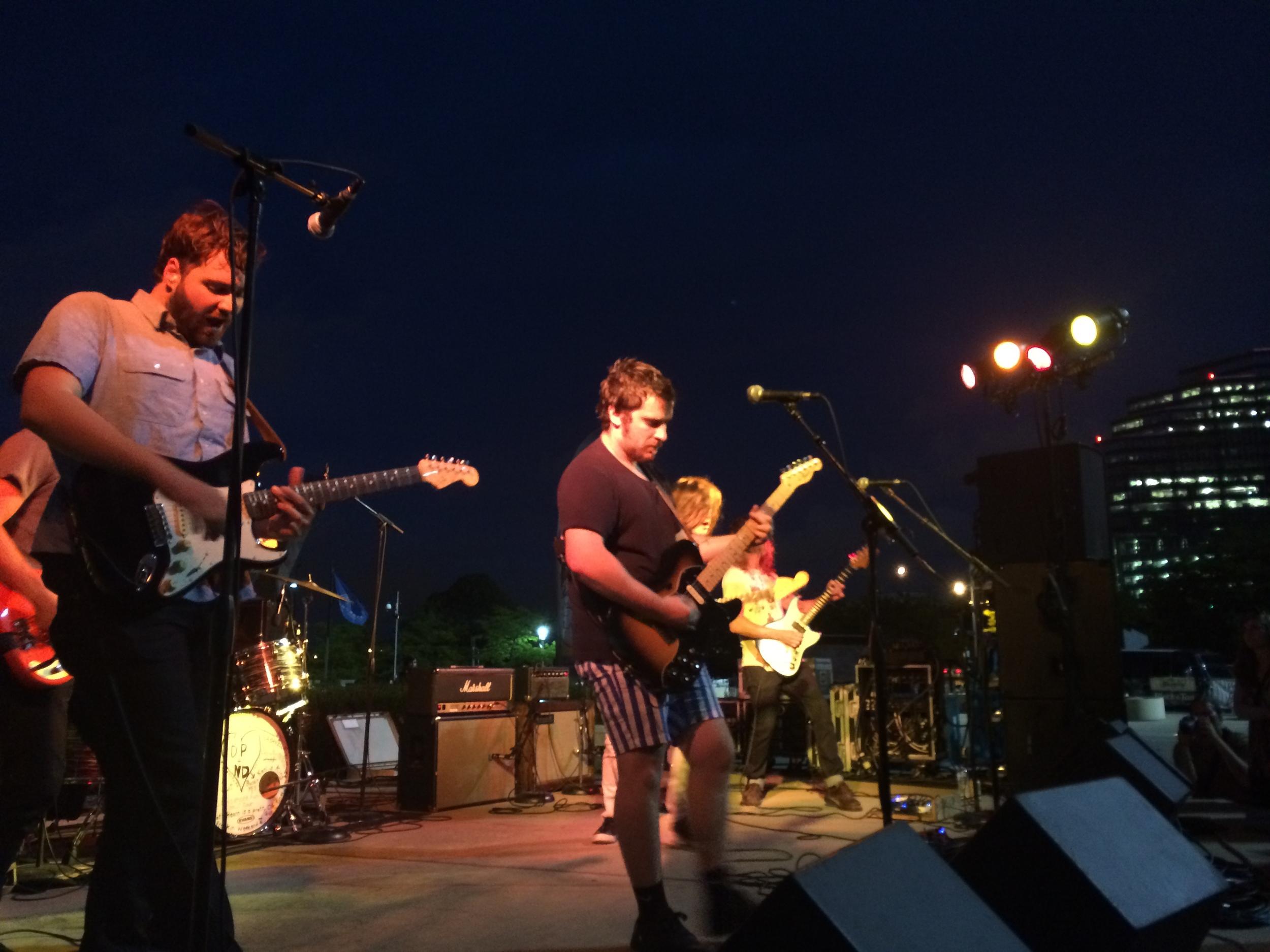 Diarrhea Planet's  4 Guitar Attack