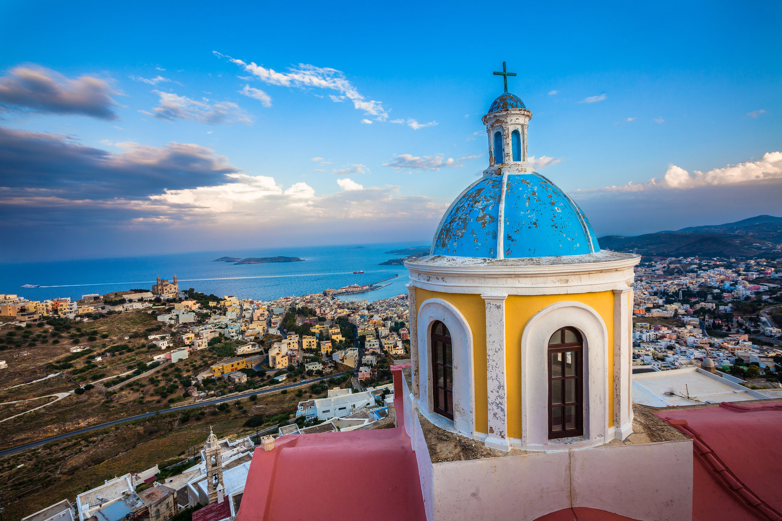 Starting date - Discover Syros will start officially on 27th of September until the1st of October.