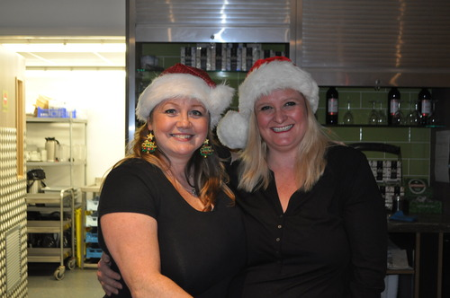 Canteen staff in the spirit