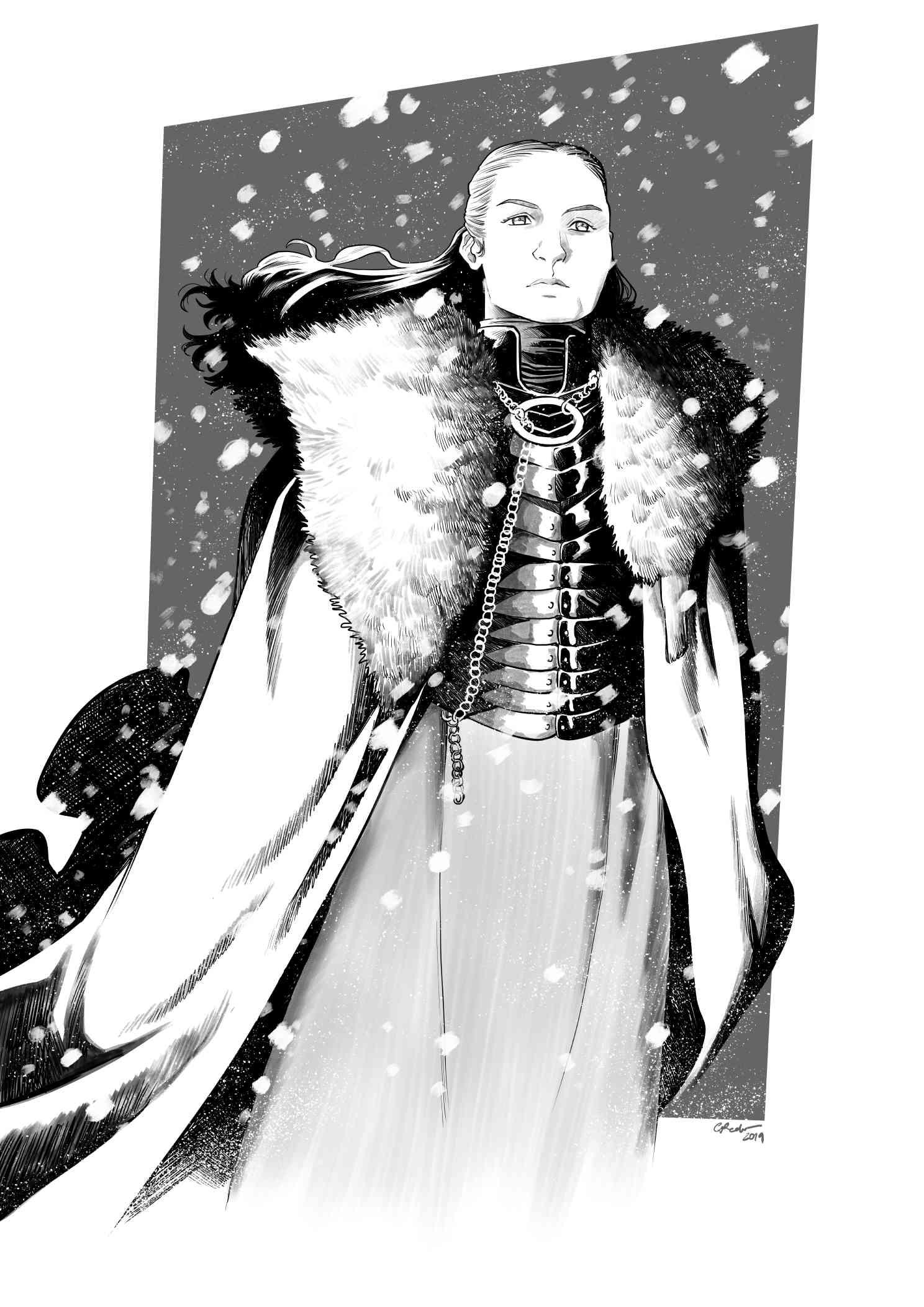 Sansa Stark  - digital sketch