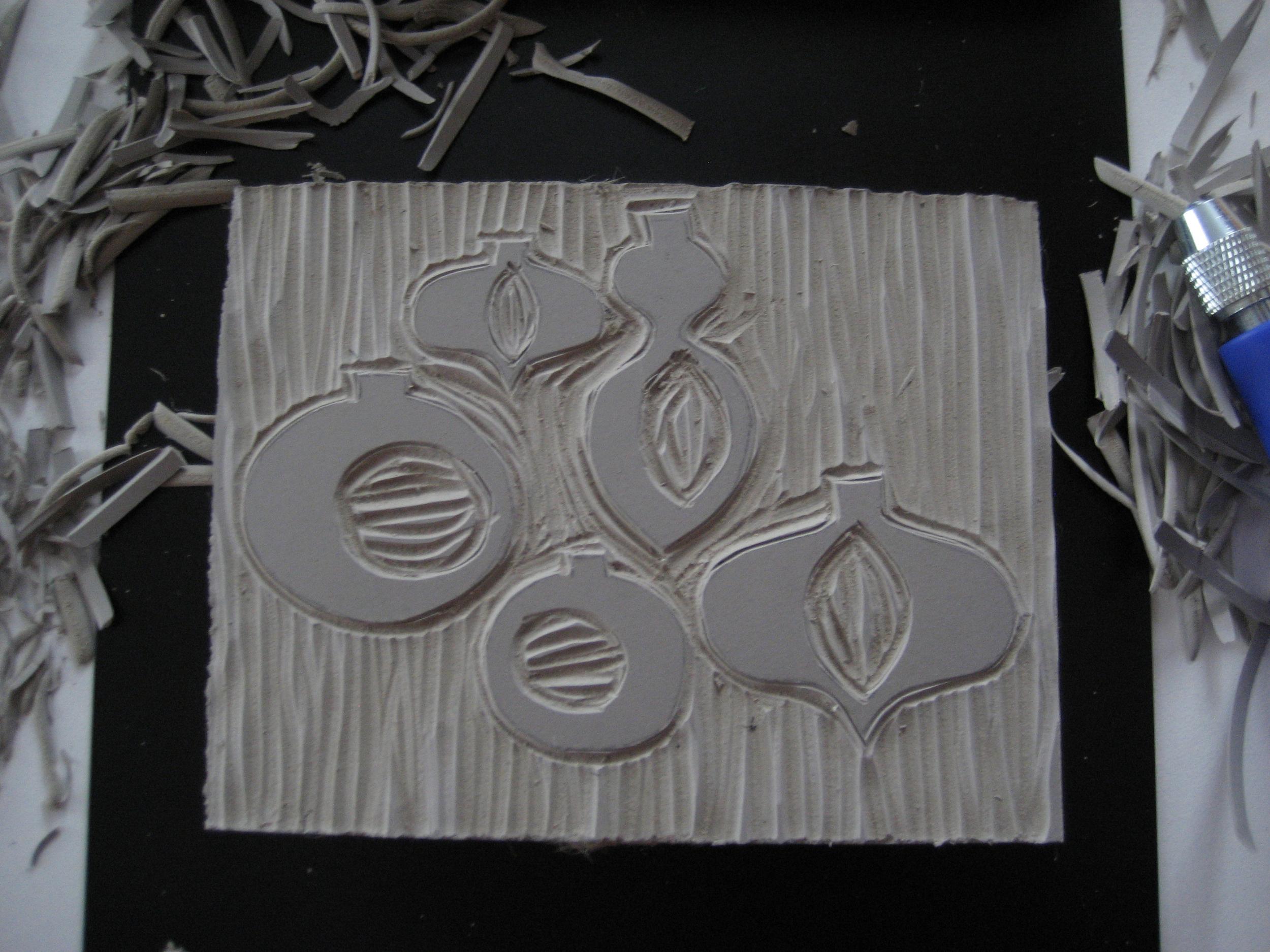 Linoleum cut