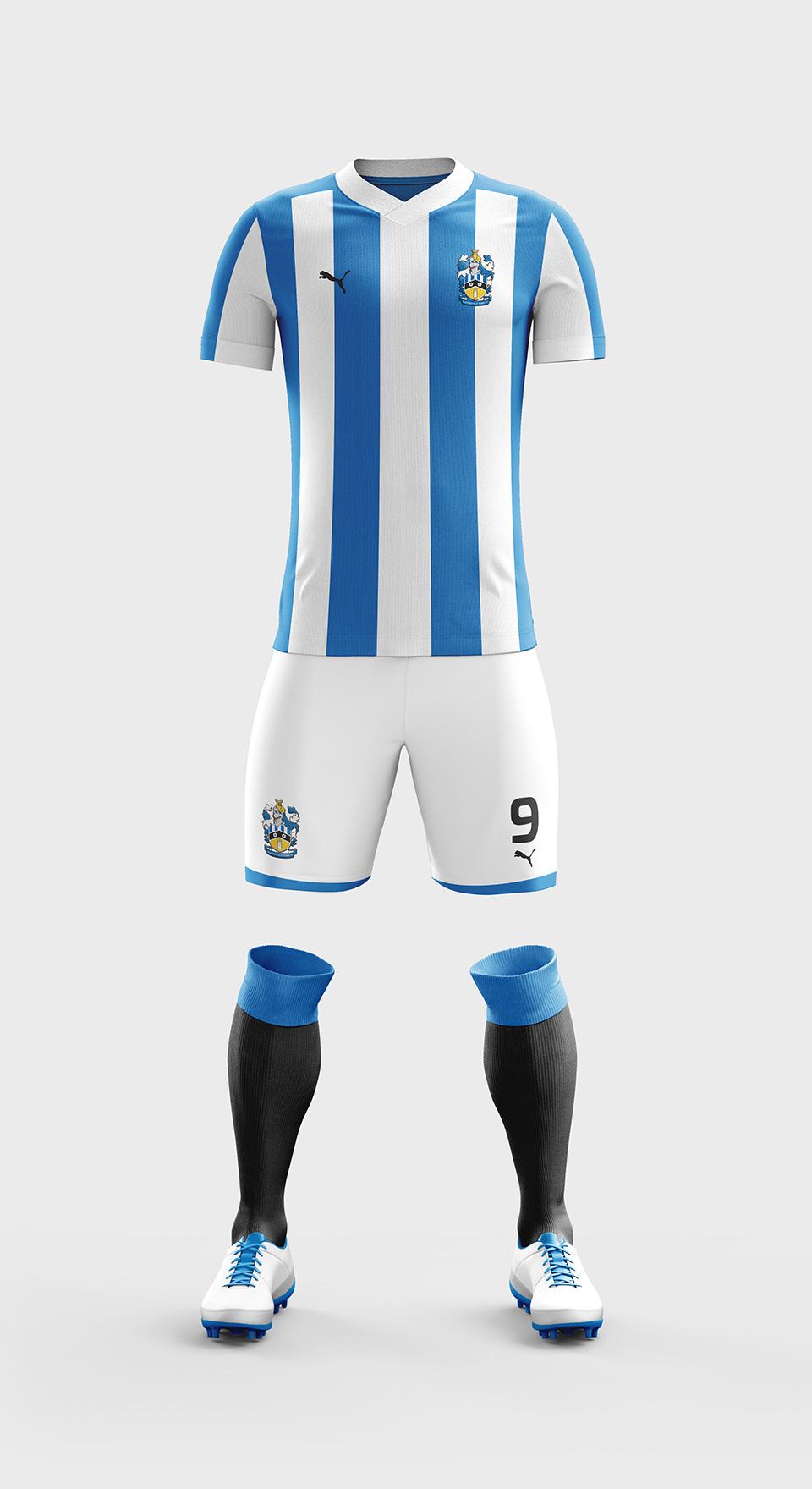 huddersfield town kit design