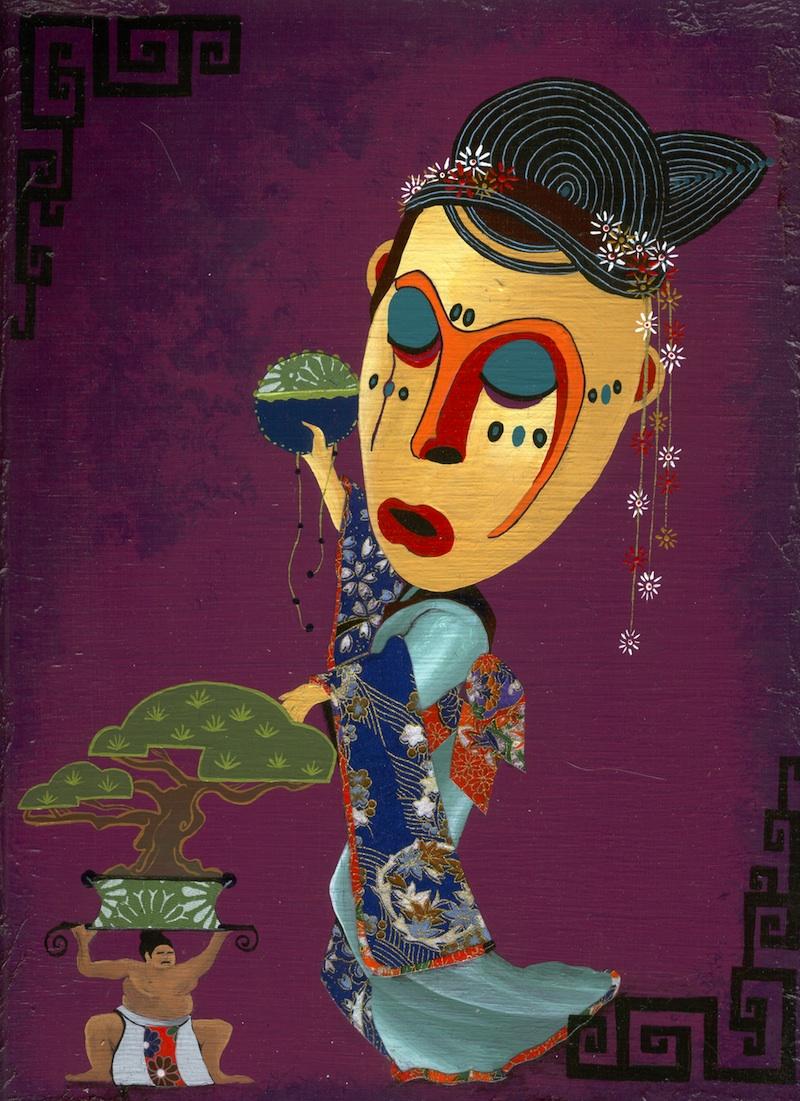The Courtesan and the Bonsai