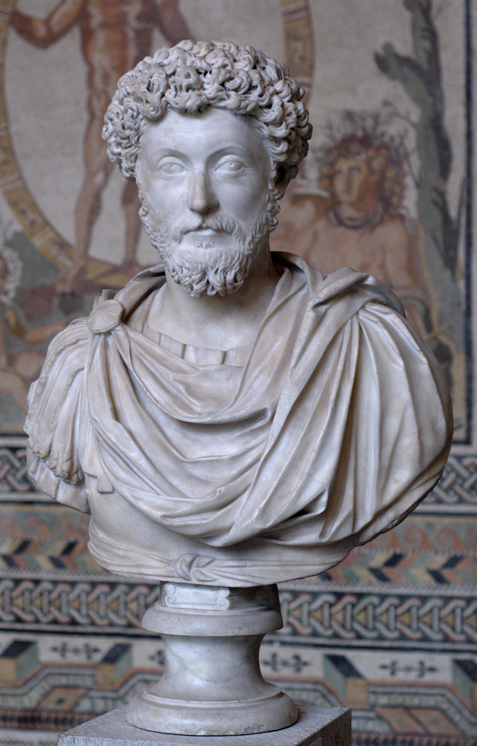Marcus Aurelius,121-180 (58 år gammel)