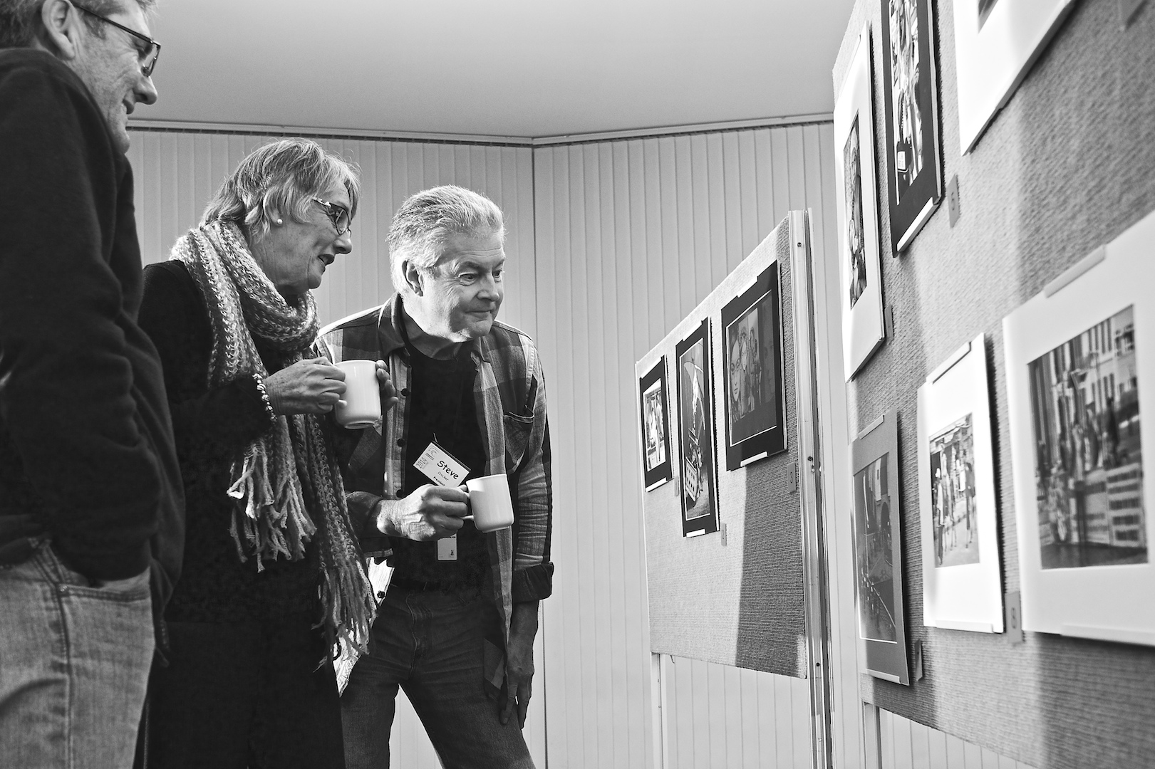 The serious business of judging the prints