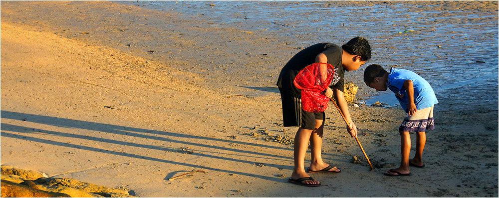 Bali Boys on the Beach