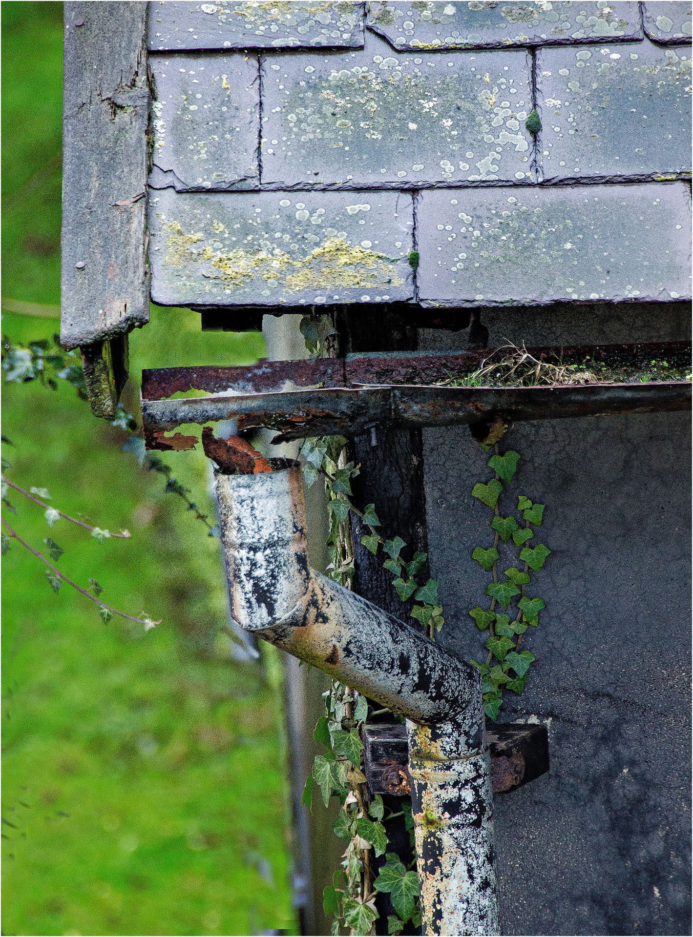 Weathered Gutter