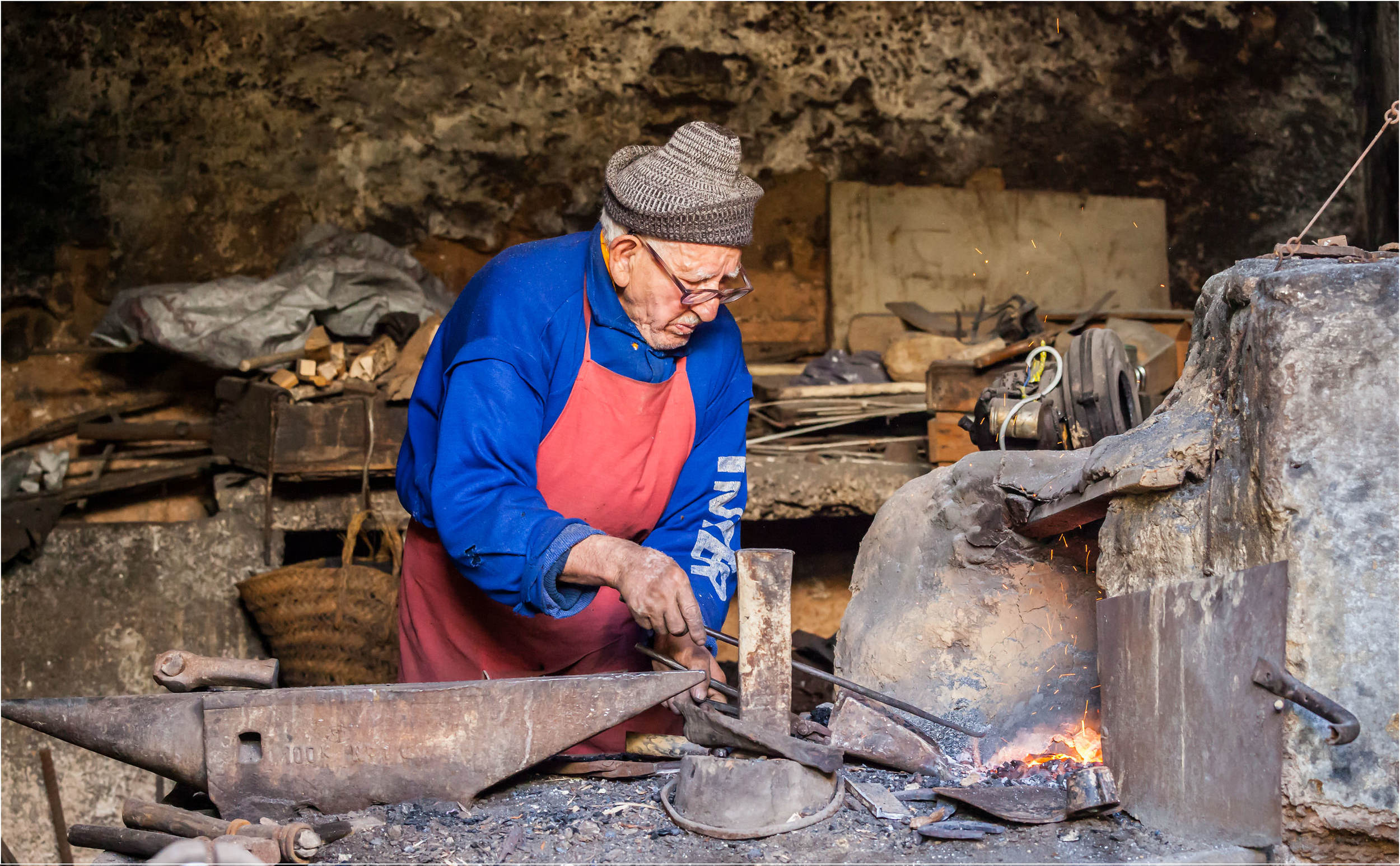 The Old Blacksmith