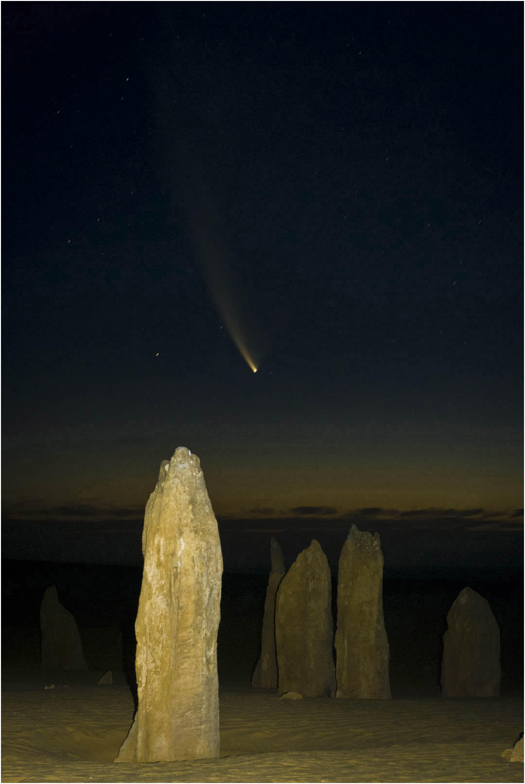 McNaught at Pinnacles
