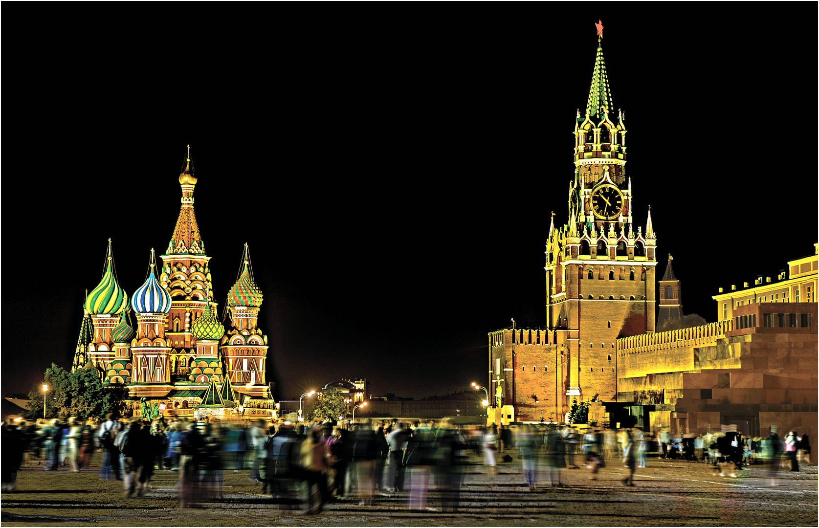 St Basils and the Kremlin