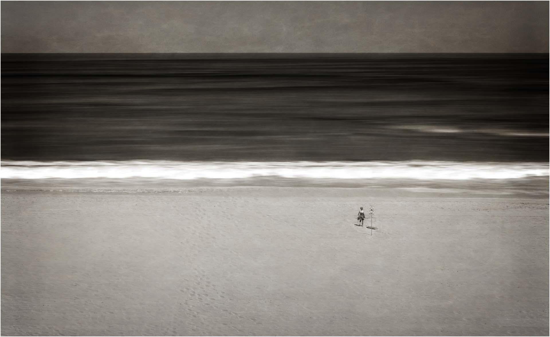 Lone Paddler
