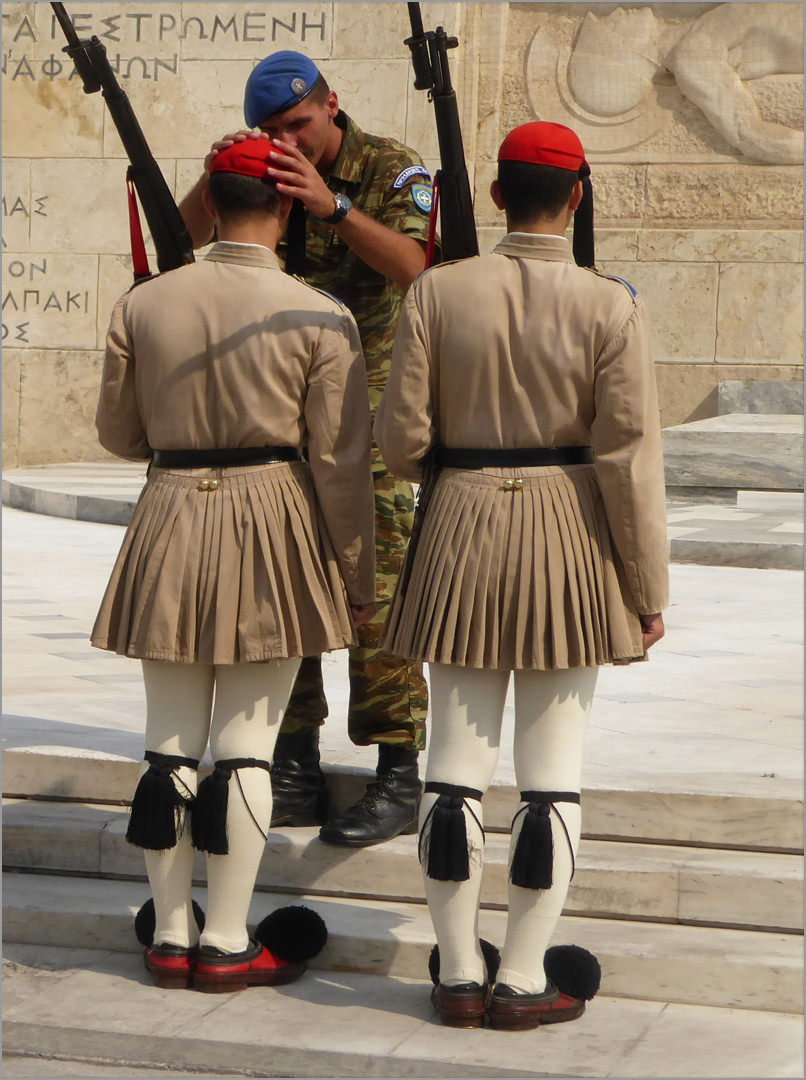 Inspection of the Guard