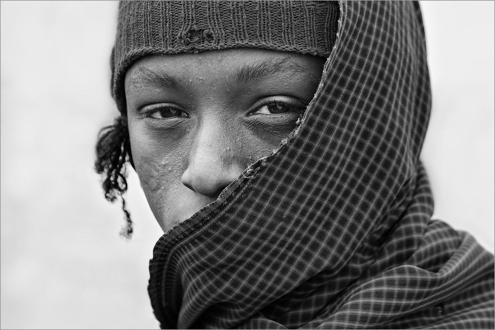 Young Masai Warrior