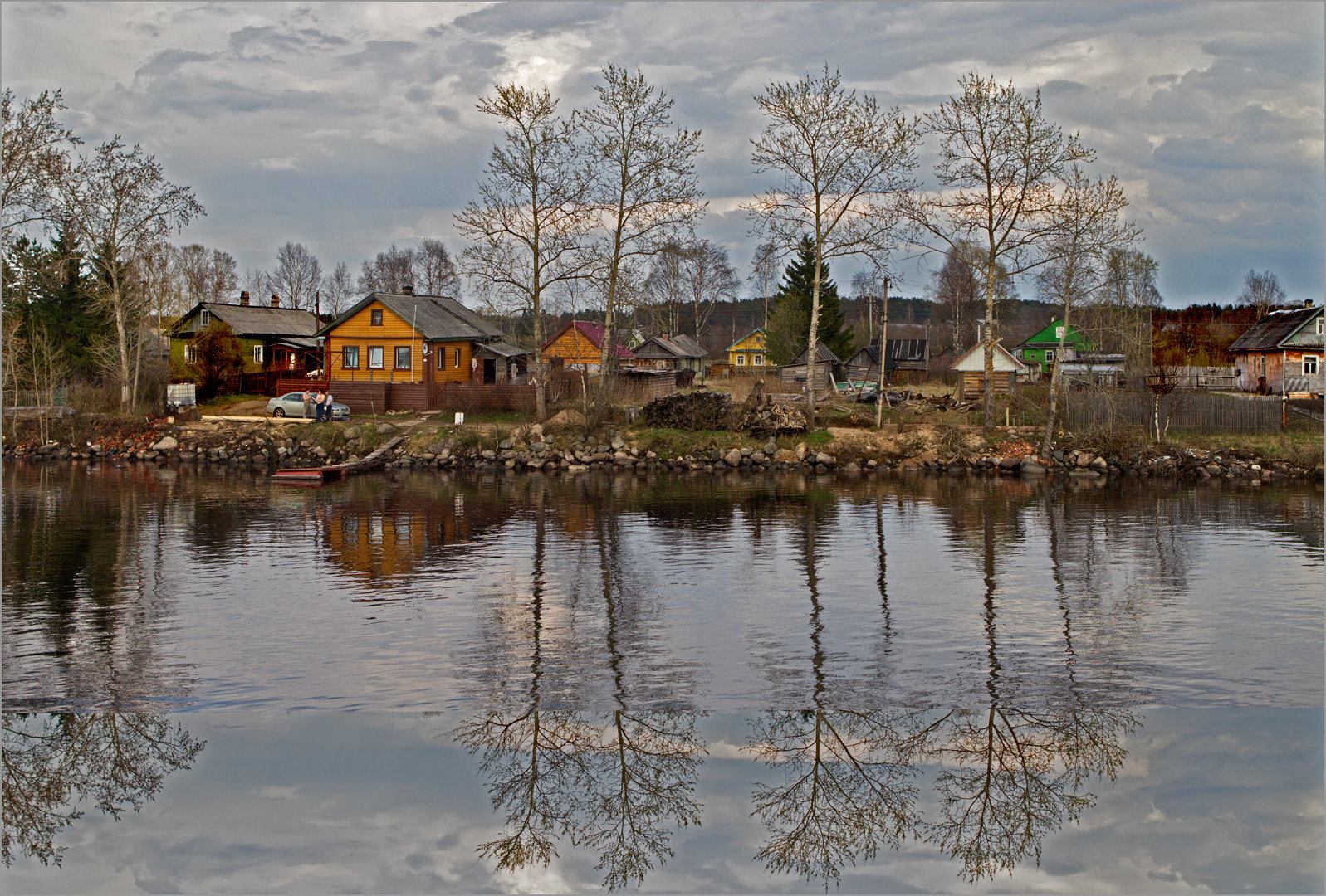 Reflections on the Volga