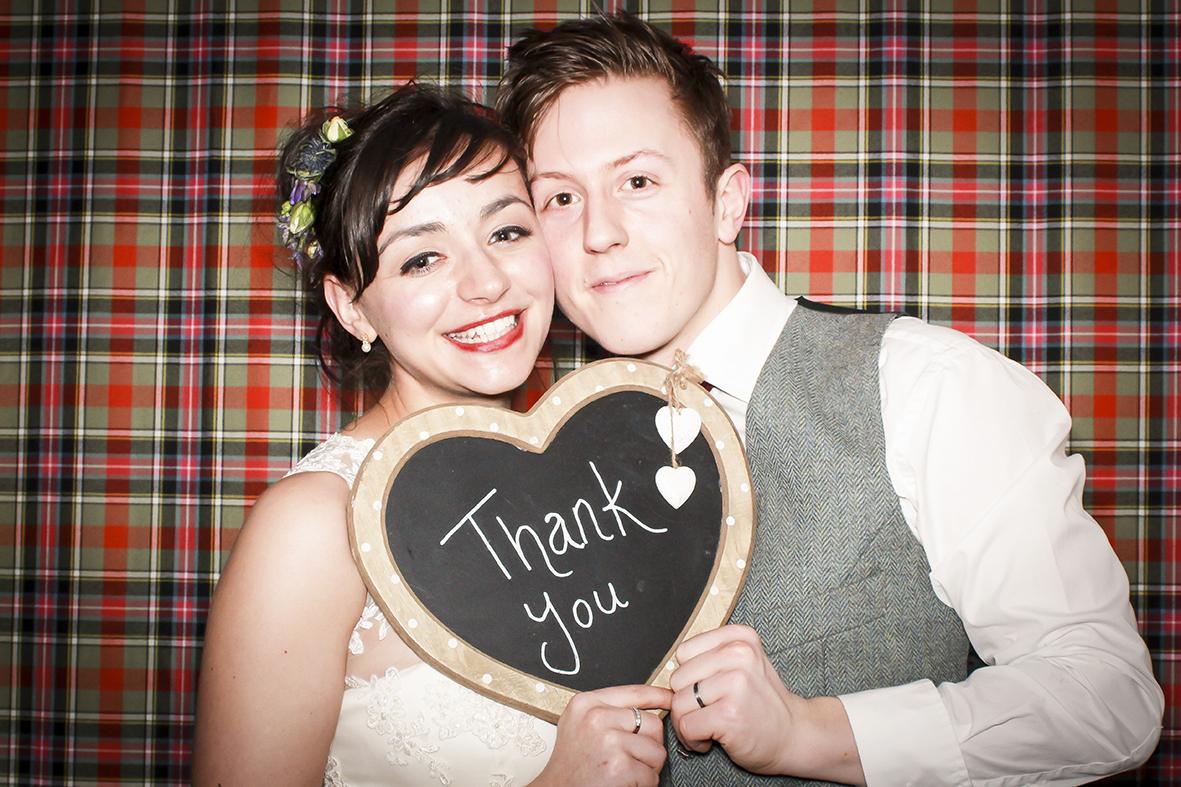 Gladys & the Bubblettes Wedding Photo Booth Dundas Castle