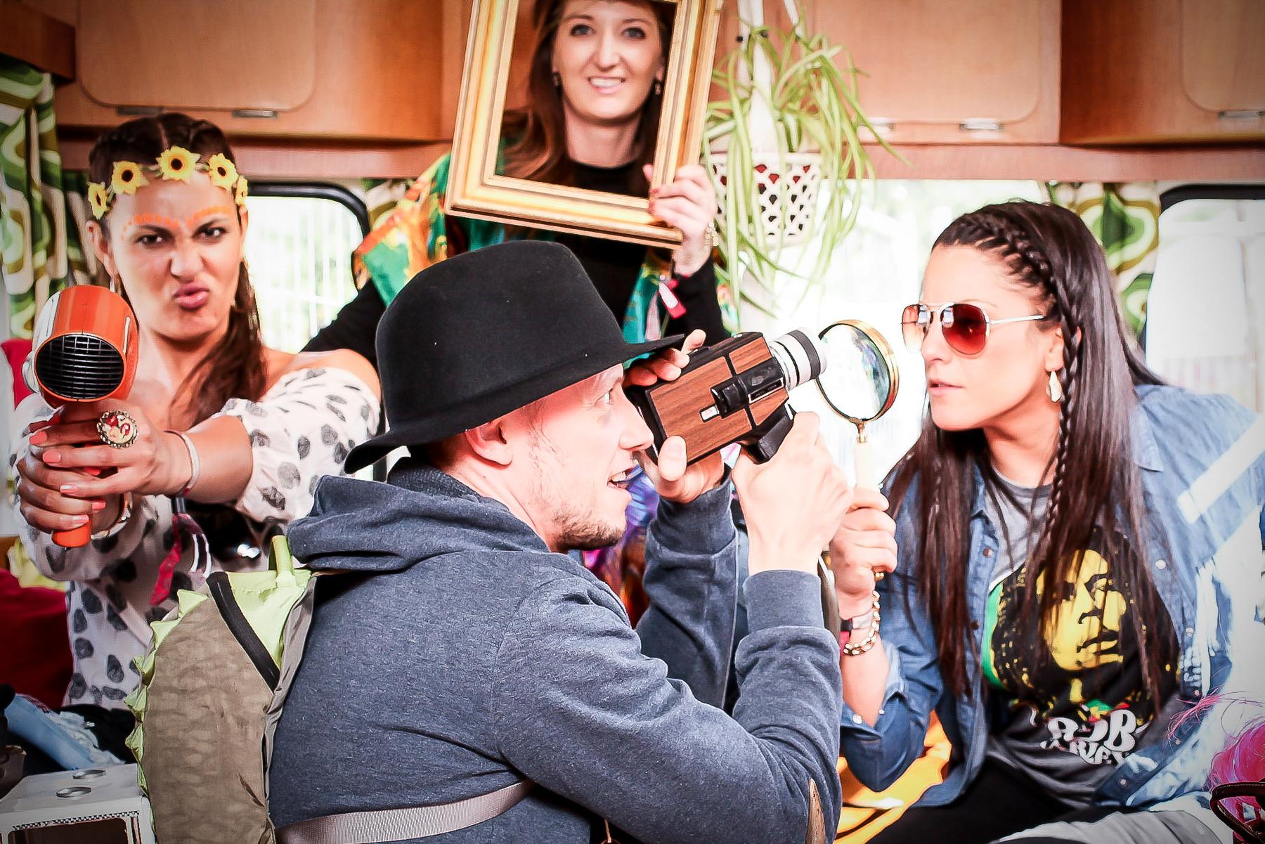 Beatherder caravan photobooth