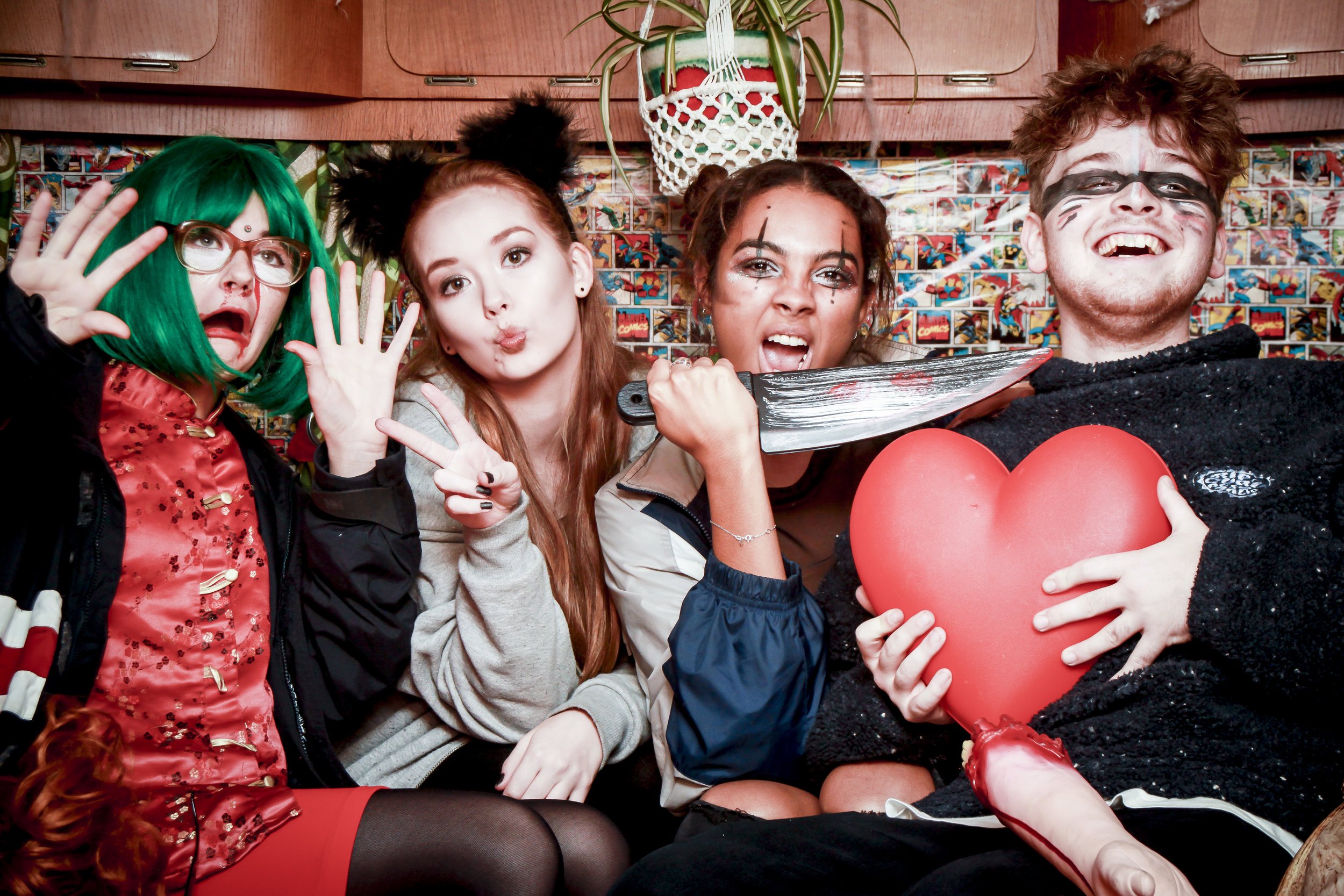 the masked ball photobooth