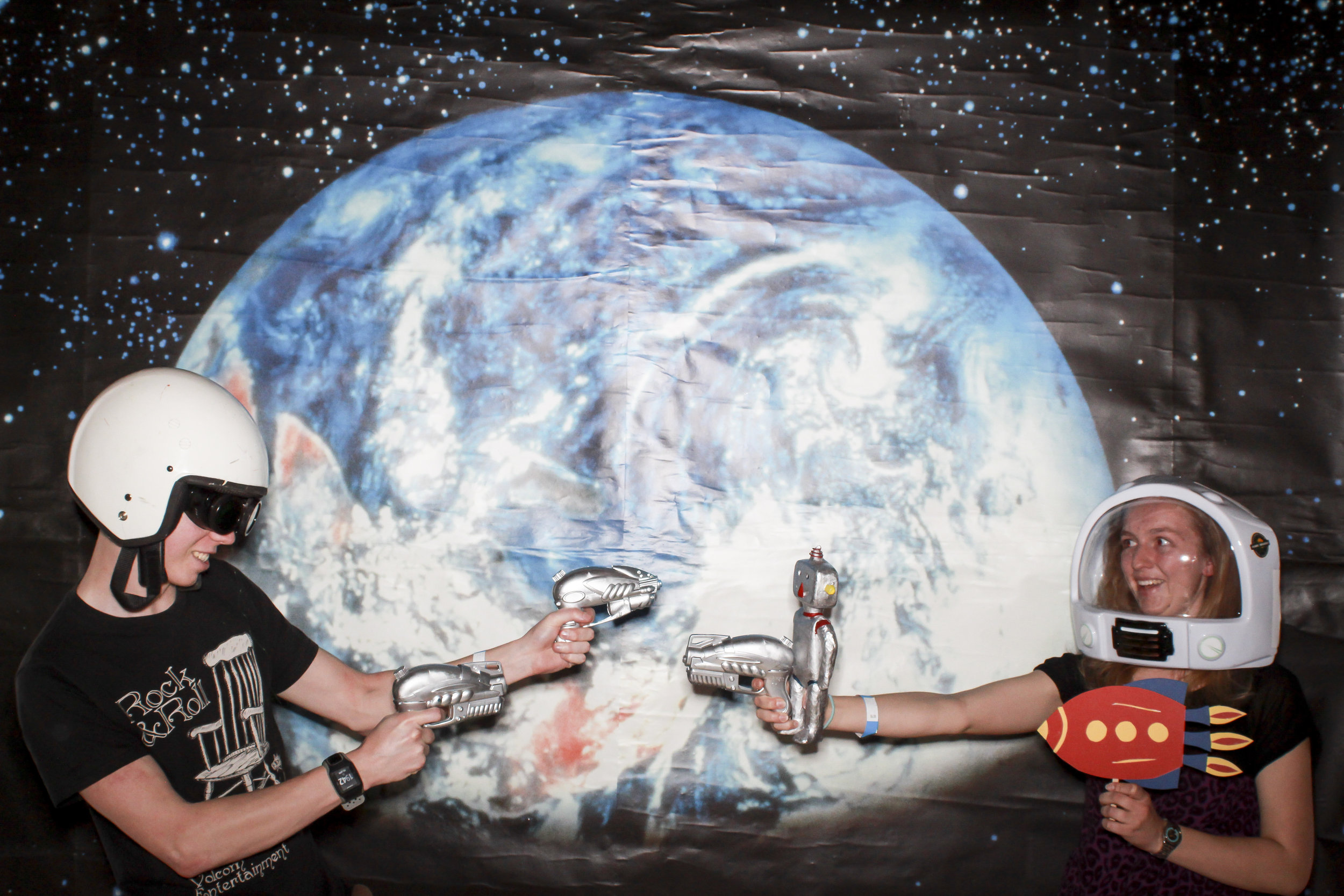 Space photobooth