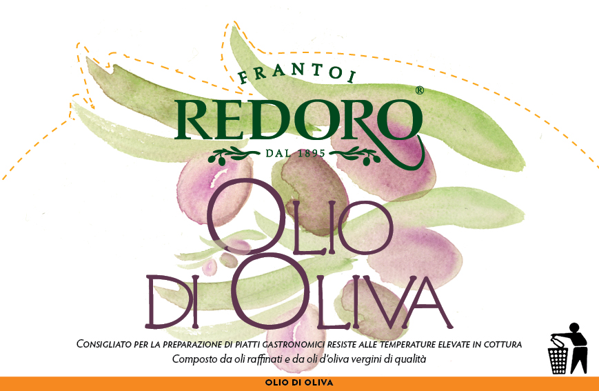 identity of olive oil renewed - new label