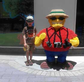 Fun for the kids at Legoland