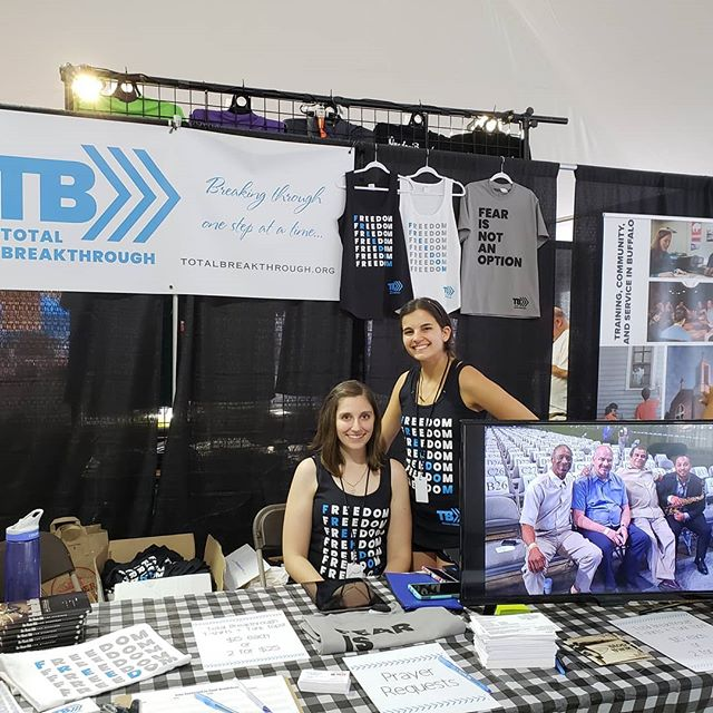 Stop by our table at the Kingdom Bound marketplace at Darien Lake!