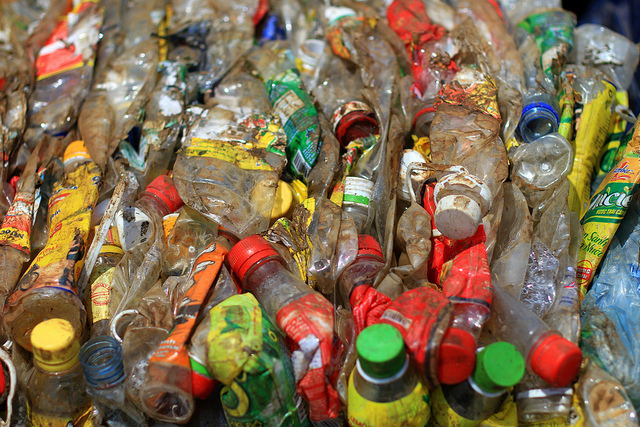 Stock photo of plastic bottles by  Adam Cohn