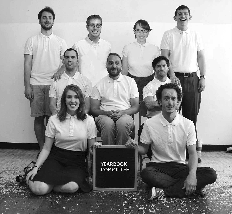 Yearbook Committee team photo