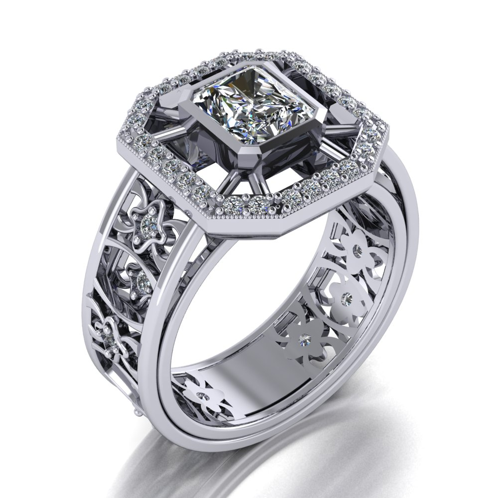 modern vintage contemporary halo style engagement ring.jpg