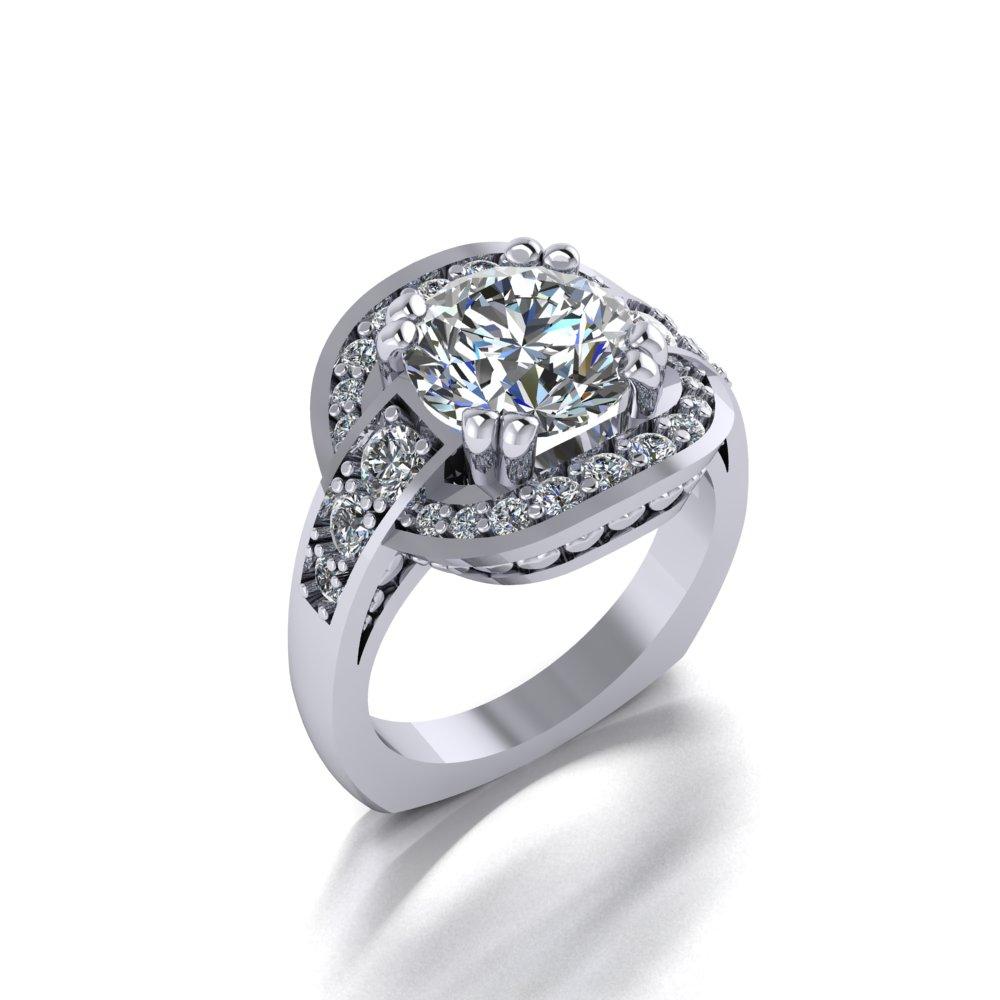 vintage engagement ring with unique halo design.jpg