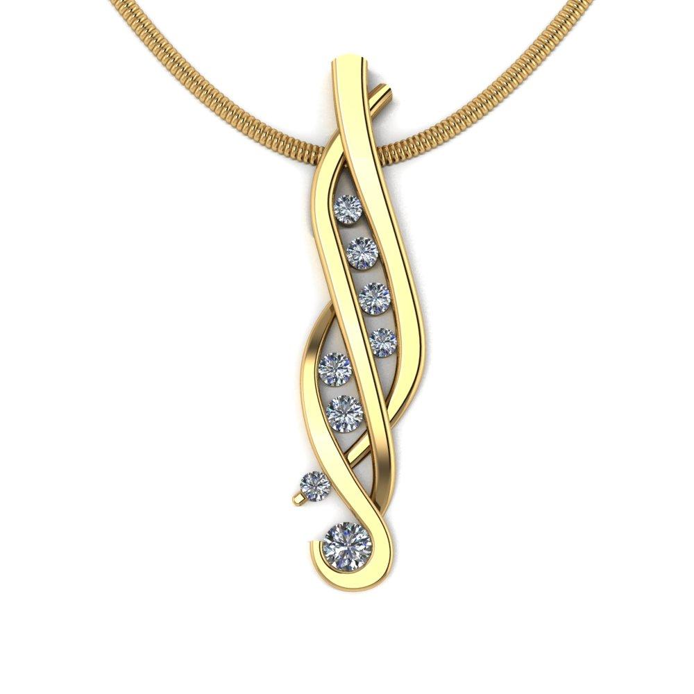 unique interwoven flowing diamond pendant.jpg