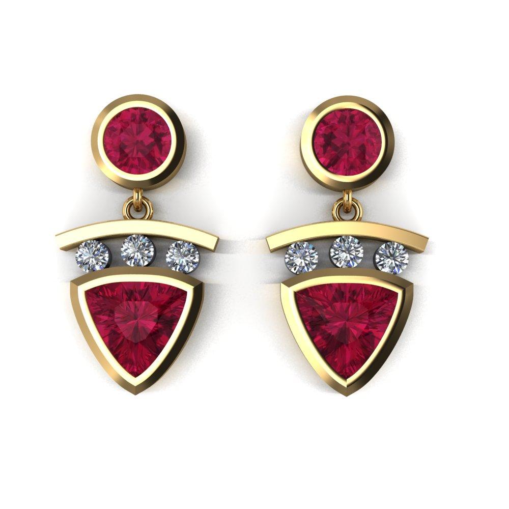 modern yellow gold ruby and diamond earrings.jpg