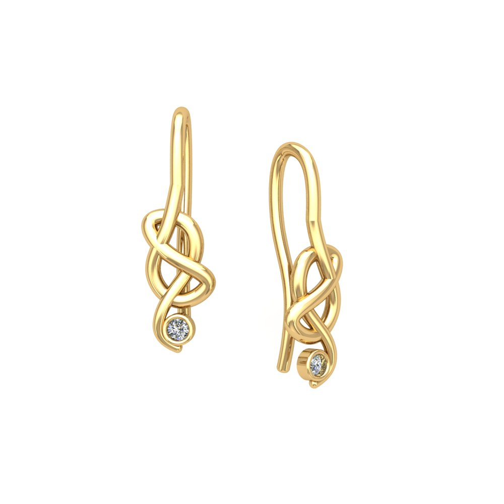 Knot Earrings Yellow Gold Diamond.jpg