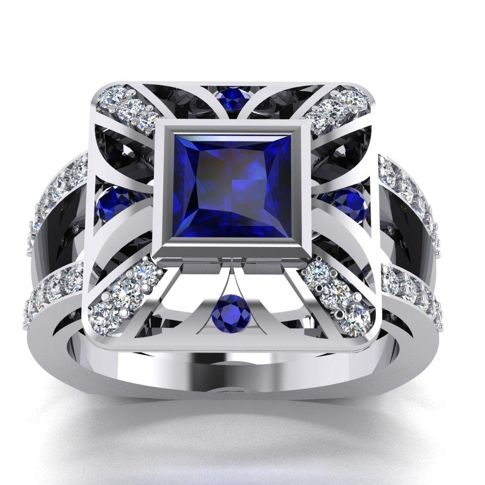modern art deco inspired sapphire diamond ladies ring.jpg