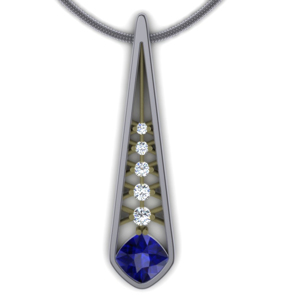 modern sapphire and diamond elongated pendant.jpg