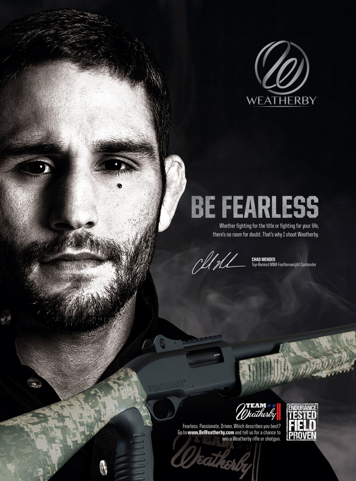 2016 Weatherby Ad Campaign