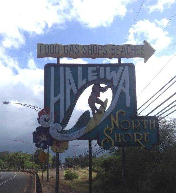 Old Haleiwa Town on the North Shore