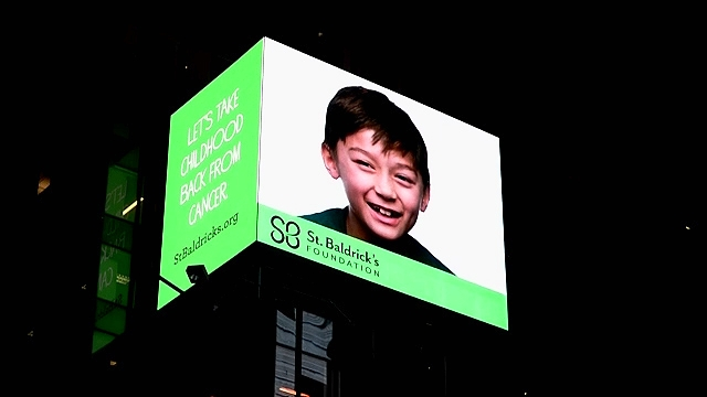 St. Baldrick's Foundation: Video Billboard