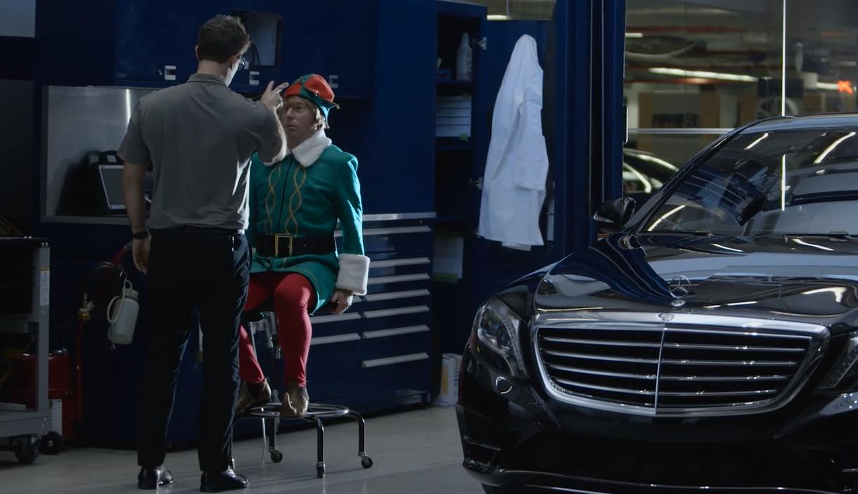 Mercedes Benz USA: Elf-Driving Car