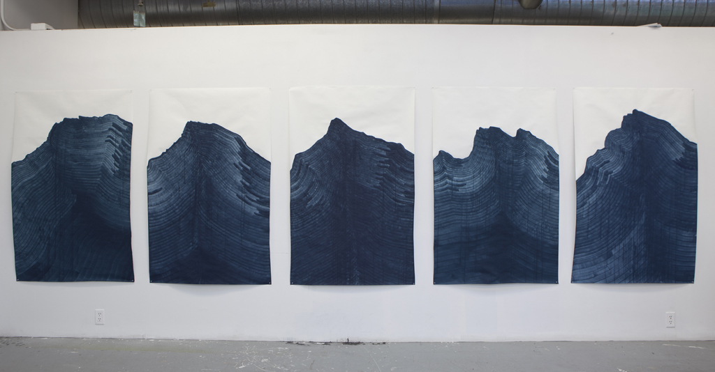 Night Mountain (Rundle) - installed